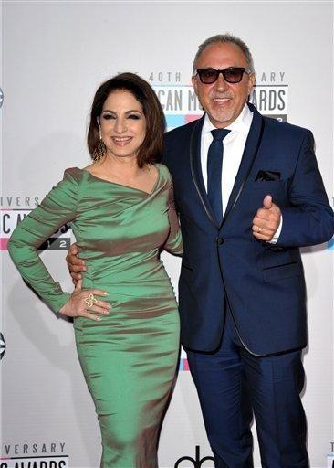 Gloria Estefan and Emilio Estefan, Jr. at the