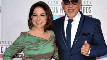 Gloria Estefan and Emilio Estefan, Jr. at the