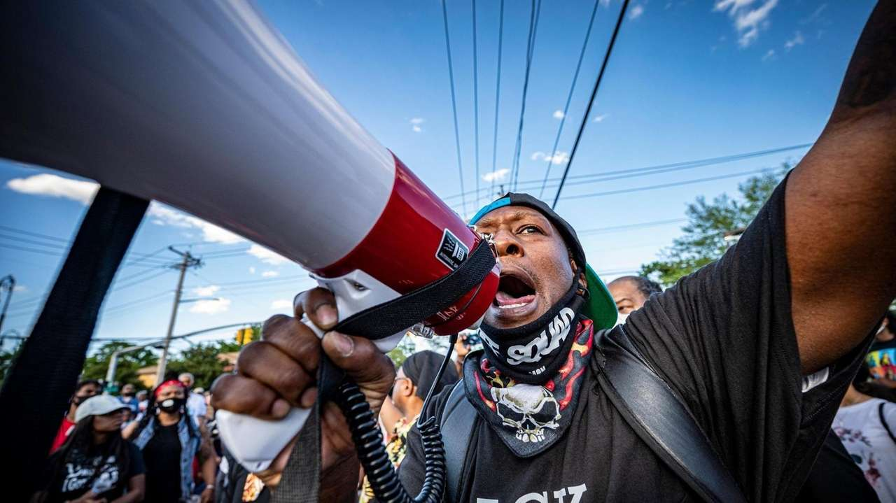 Demonstrations calling for reforms to policing continued across