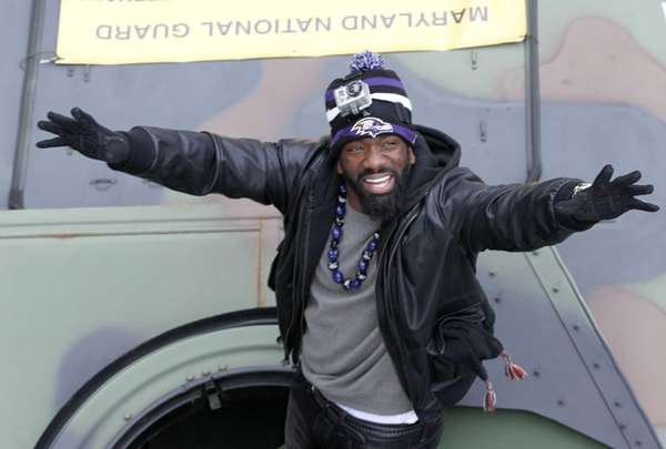 Free safety Ed Reed of the Super Bowl
