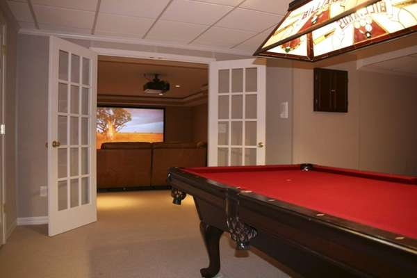 A Stony Brook basement that was redone by