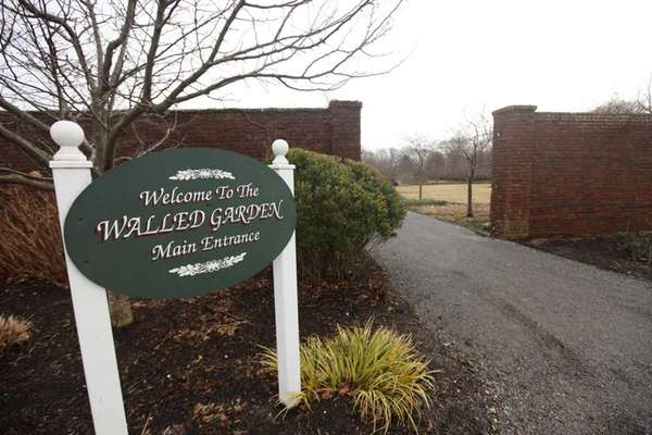 The Walled Garden at Caumsett State Park in