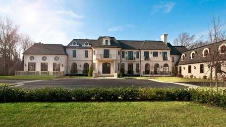 A palatial mansion in Sands Point is now