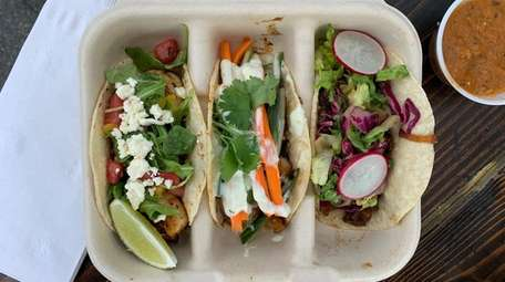 Uptown Taco in Floral Park offers a variety