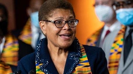 Rep. Karen Bass, chair of the Democratic Black