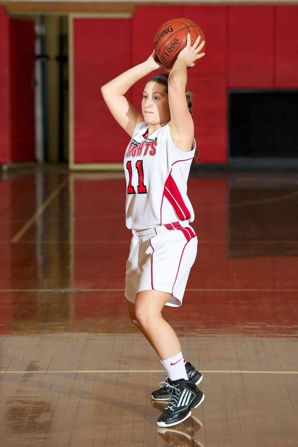 Floral Park guard Jocelyn Penteck looks to make