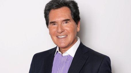 TV news anchor Ernie Anastos, left the 6