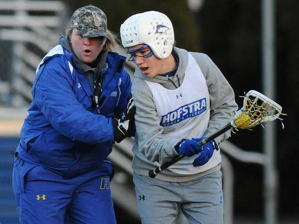 Hofstra University women's lacrosse head coach Shannon Smith,