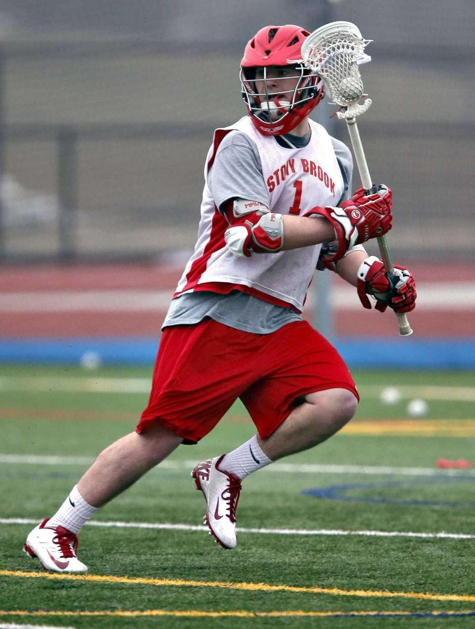 Stony Brook men's lacrosse senior attack Mike Rooney