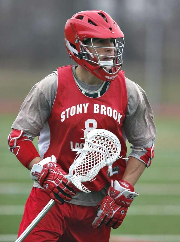 Stony Brook men's lacrosse junior midfielder Cole Millican