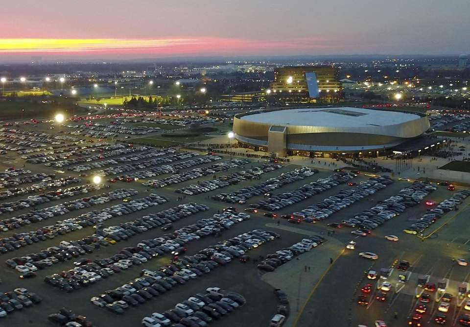 A view of NYCB Live's Nassau Coliseum in