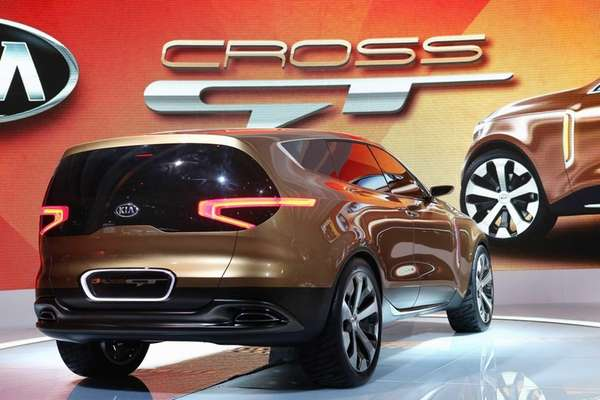 Kia introduces the Cross GT Concept car at