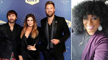 Country band Lady A, formerly Lady Antebellum, and