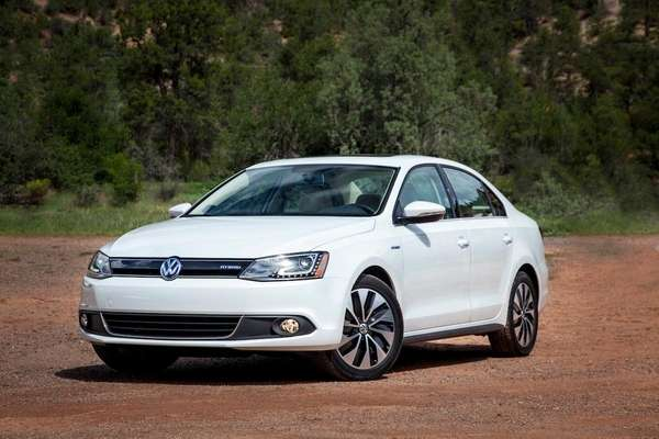 The 2013 Jetta Hybrid's stylings speak to the