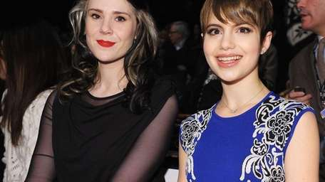 From left, Kate Nash and Sami Gayle attend