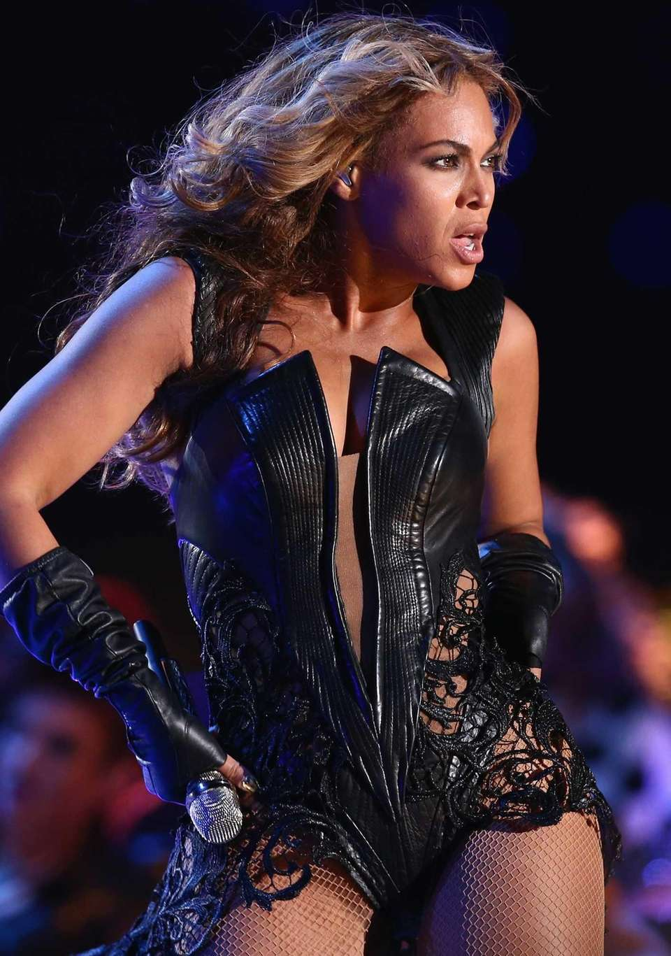 Beyoncé performs during the Pepsi Super Bowl XLVII