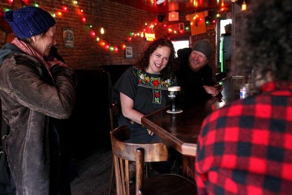Rosie Schaap at South, the Brooklyn bar where