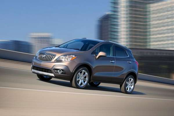 The 2013 Buick Encore is small, resembles a