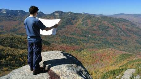 The Adirondacks offers plenty of hiking trails to