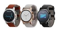 The Motorola Moto 360 smartwatch is available in