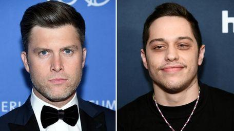 """Saturday Night Live"" cast members Colin Jost and"