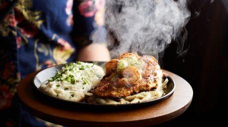 The Bourbon Street chicken and shrimp at Applebee's