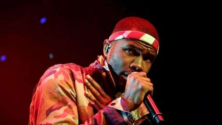 Frank Ocean, above, and Beck, lead the pack