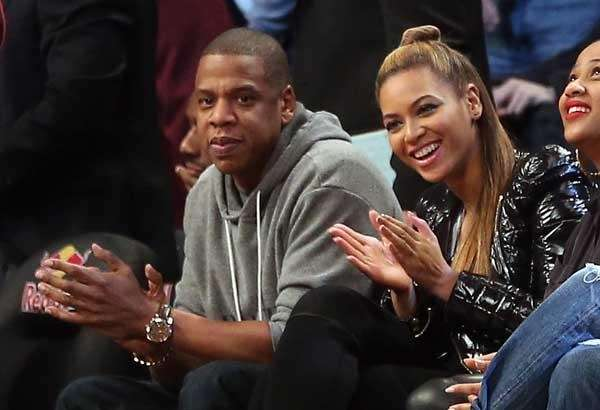 Jay-Z and wife Beyonce