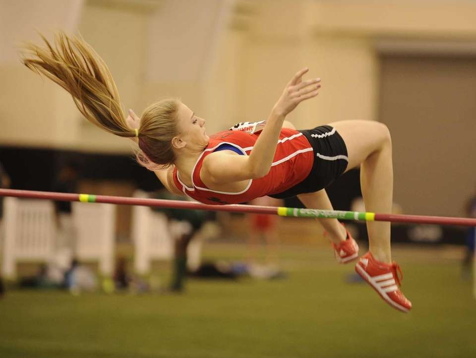 Plainedge's Lisa Maybie placed second in the high