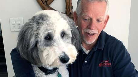 Michael Schaier, owner of Michael's Pack Positive Dog
