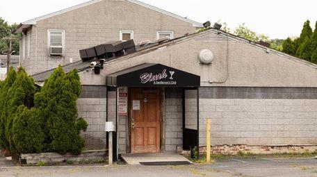 Blush gentleman's club in Commack on Thursday.