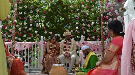Seema Uppal, 30, married her husband, Arjun Shah,