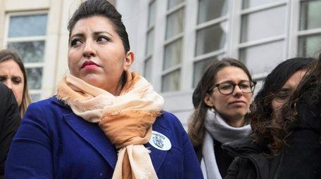 DACA recipient Eliana Fernández, of Patchogue, was one