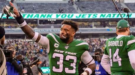 Jamal Adams could be pointing goodbye to Jets,