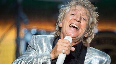 Rod Stewart performing at Northwell Health at Jones