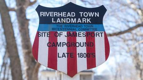 The former Methodist campground in Jamesport is a