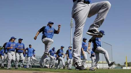 The voluntary report date for pitchers and catchers