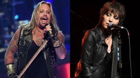 Mötley Crüe frontman Vince Neil and Joan Jett