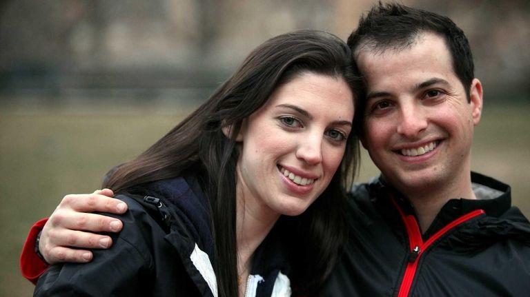 Kathryn Axelrod and David Goldberg were introduced through