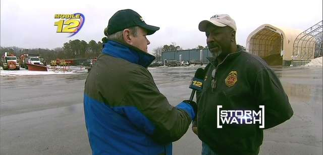 Riverhead Town Highway Department Superintendent George Woodson is