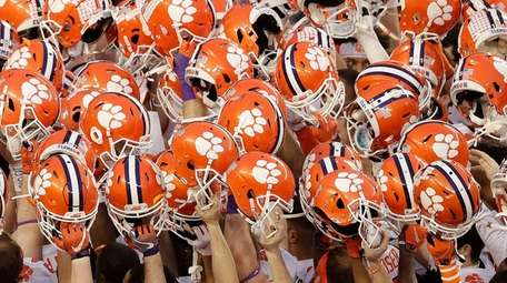In this Jan. 7, 2019, file photo, Clemson