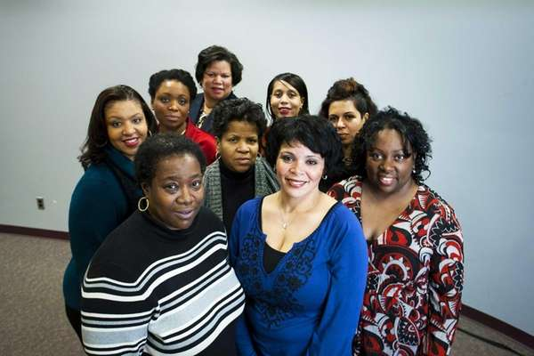 Executive board members of The Mothers Club of