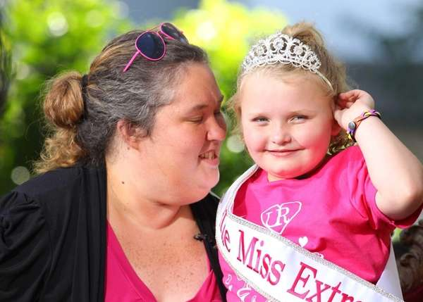 "June Shannon and Alana Thompson ""Honey Boo Boo"""