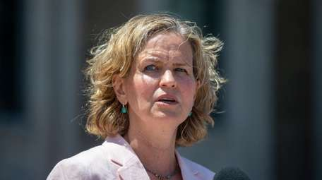 Nassau County Executive Laura Curran on Tuesday in