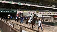 Horses participating in the 152nd running of the