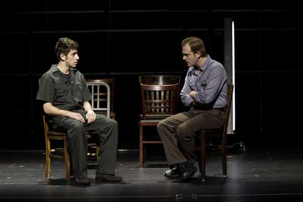 "Mark Berger and Jeremy Bobb in ""The Laramie"