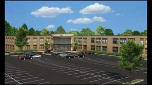 A rendering for the proposal to convert School