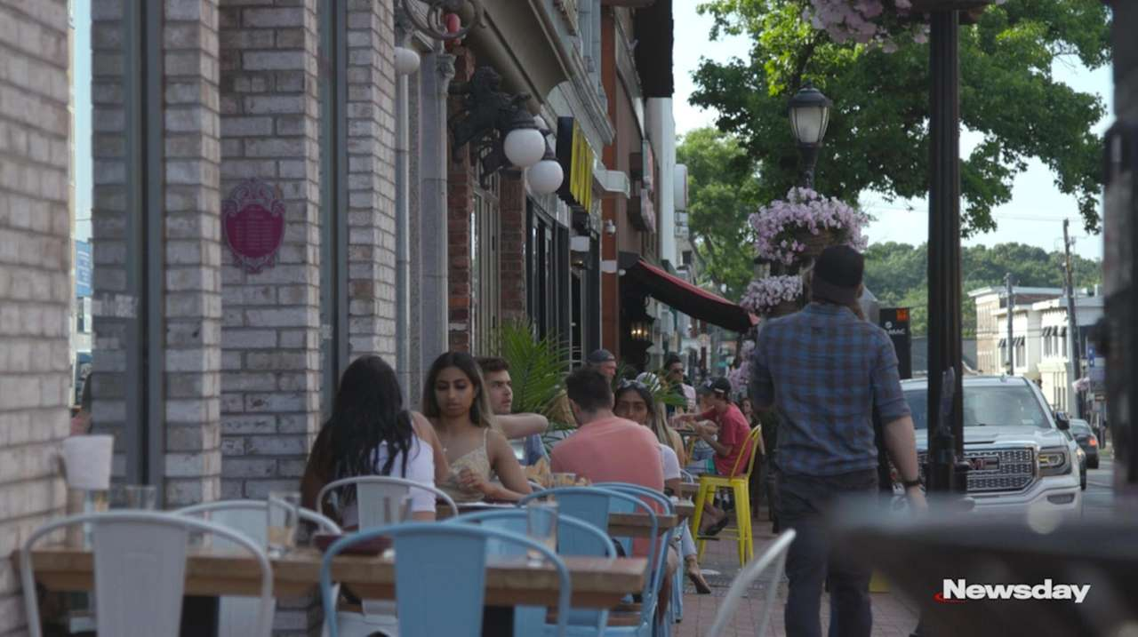 Long Island eateries can now offer outdoor dining,