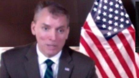 New York City Police Department Commissioner Dermot Shea