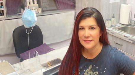 Kris Kiss, 46, owner of Couture Nail Studio